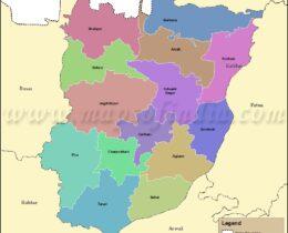 bhojpur(Arrah)-tahsil-map