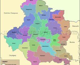 east-champaran(mothari)-tahsil-map