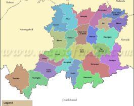 gaya-tehsil-map