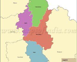 moradabad-tehsil-map