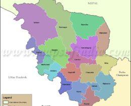 pashcim-champaran(Betiah)-tehsil-map