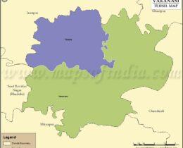 varanasi-tehsil-map