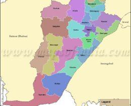 rohtas-tehsil-map